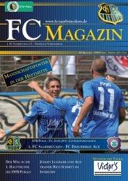 fc agazin - 1. FC Saarbrücken
