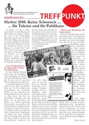 TREFFPUNKT Herbst 2010 als pdf - staaken.info