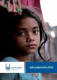 Jahresbericht 2011 - Islamic Relief e.V.