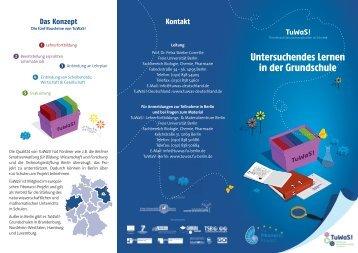 Freien Universität - TuWaS! - Freie Universität Berlin