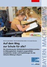 Auf dem Weg zur Schule für alle? - Bibliothek der Friedrich-Ebert ...