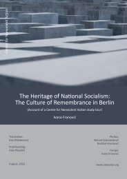 The Heritage of National Socialism - Centre for Nonviolent Action