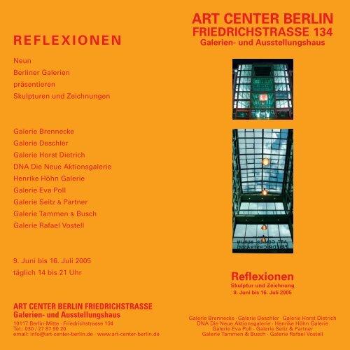 Reflexionen - Galerie Vostell
