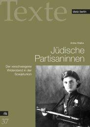 Jüdische Partisaninnen - Rosa-Luxemburg-Stiftung