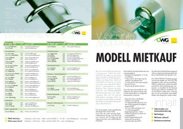 MODELL MIETKAUF - ÖWGes