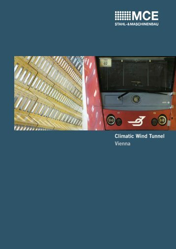 Brochure Climatic Wind Tunnel, Vienna [PDF, 1259 KB