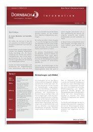 Non-Profit-Informationen 1/2011