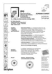 ZPO - Alpmann Schmidt