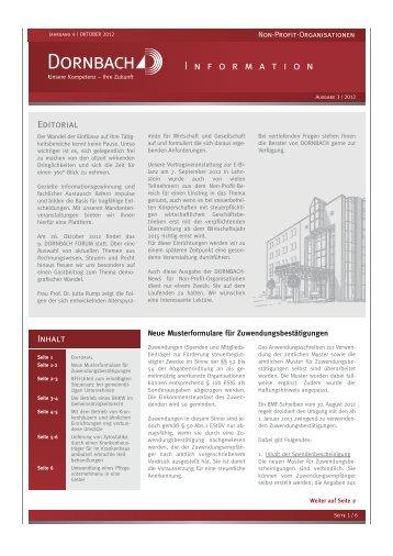 Non-Profit-Informationen 3/2012