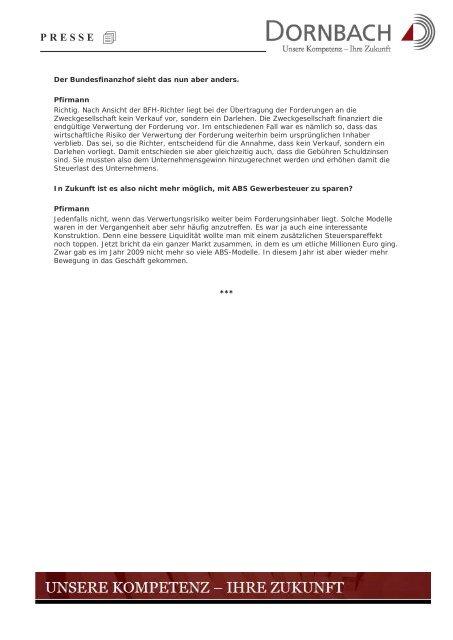 Urteil des Bundesfinanzhofs