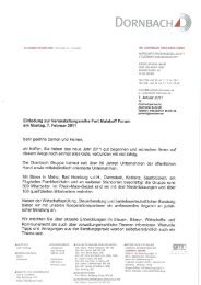 Informationen zum Fort Malakoff Forum am 17 2 2011 in Mainz 1 ...