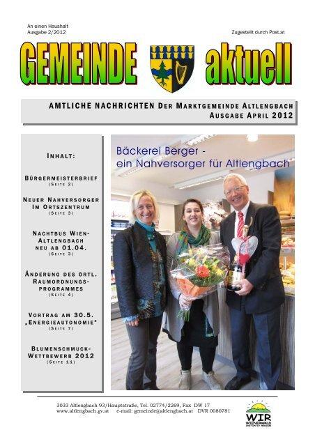 Veranstaltungen - Altlengbach
