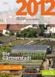 Gärtnerstadt Die - Landesgartenschau Bamberg