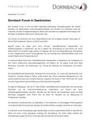 Dornbach Forum, Saarbrücken
