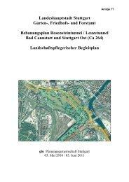 Landeshauptstadt Stuttgart Garten-, Friedhofs- und Forstamt