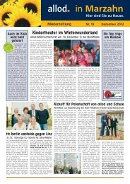 Ausgabe 19 Dezember 2012