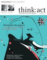 think: act Magazin - Ausgabe 15 - Roland Berger