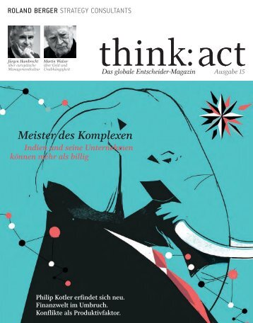 think: act Magazin - Ausgabe 15 - Roland Berger