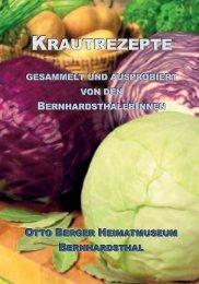 KRAUTREZEPTE - Friedl Dieter