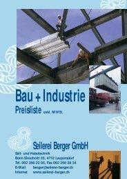 Seilerei Berger GmbH, CH-4712 Laupersdorf