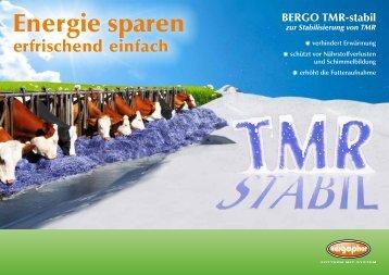 zur Stabilisierung von TMR - Bergophor Futtermittelfabrik