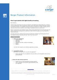 How to get started with digital textile processing 01-2010 - a.berger