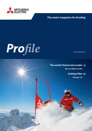 The smart magazine for Eroding - Mitsubishi Electric Europe