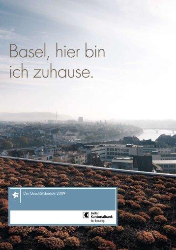 Basel, hier bin ich zuhause. - Basler Kantonalbank