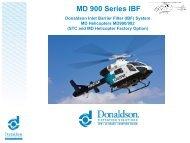 MD 900 Series IBF - Donaldson Company, Inc.