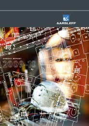 Annual Report 2009/10 (13 MB) - Per Aarsleff A/S
