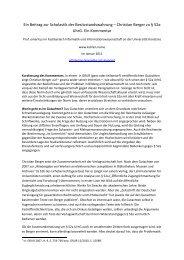 Christian Berger zu § 52a UhrG. Ein Kommentar - Prof. Dr. Rainer ...