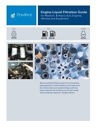 Engine Liquid Filtration Product Guide - Donaldson  Company, Inc.