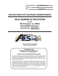 Instruction for Continued Airworthiness (ICA) - Donaldson Company ...