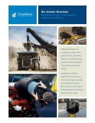 Donaldson Air Filtration - Donaldson Company, Inc.