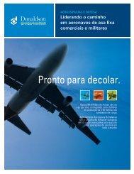 Pronto para decolar. - Donaldson Company, Inc.