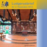 Ludgerusbrief - Propsteipfarrei St. Ludgerus