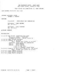 Court record regarding Utah State Tax Commission liens - Rick Ross
