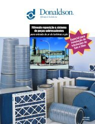 Características - Donaldson Company, Inc.