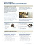 Accurate Exhaust Gas Temperature Reading  - Donaldson Company ... - Page 7