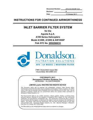 instructions for continued airworthiness template