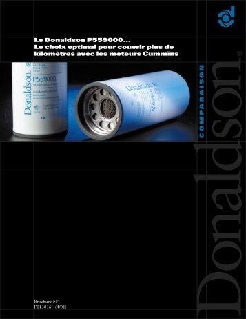 pour la route - Donaldson Company, Inc.