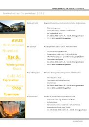 Newsletter Dezember 2011 - Donaukurier