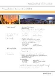Newsletter Dezember 2008 - Donaukurier