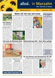 Ausgabe 06 September 2008