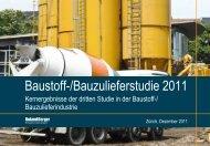 Baustoff-/Bauzulieferstudie 2011 (PDF, 2907 KB) - Roland Berger
