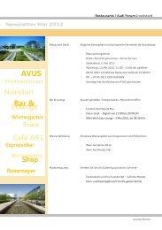 Newsletter Mai 2012 - Donaukurier
