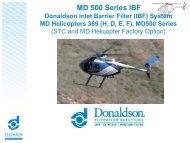 MD 500 Series IBF - Donaldson Company, Inc.