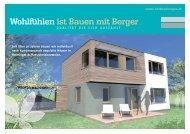 Wohlfühlen ist Bauen mit Berger - Otmar Berger