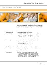 Newsletter Juli 2008 - Donaukurier