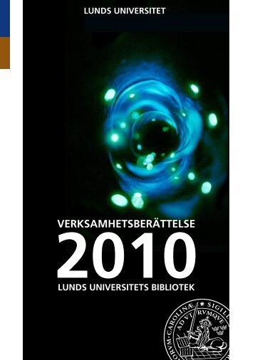 2010 - Lunds universitets bibliotek